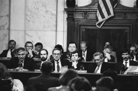 Iran-Contra Affair Investigation Hearing