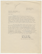 Letter from Mr. and Mrs. H. Lee Sutton to Representative John H. Tolan
