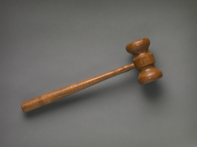 Gavel of Speaker Samuel Taliaferro Rayburn