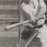 James Mead at Bat