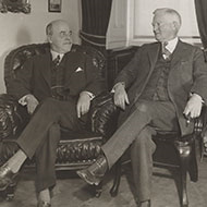 Nicholas Longworth and John Garner