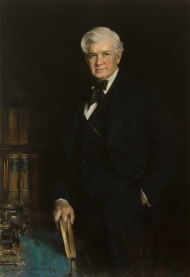 Howard Chandler Christy's Portrait of Henry Rainey