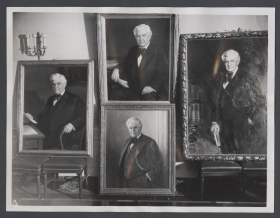 Four Portraits of Speaker Henry Rainey