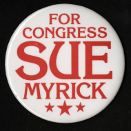 <i>Sue Myrick Lapel Pin</i>