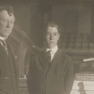 House Page Gilbert Gates and Philip Pitt Campbell