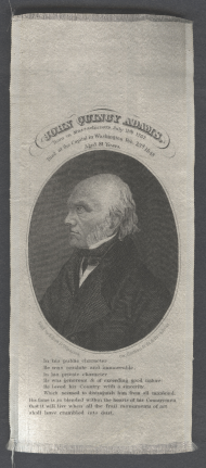 John Quincy Adams Memorial Ribbon