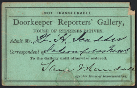 Doorkeeper Reporters' Gallery Pass