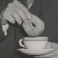 Dunking a Doughnut into Coffee
