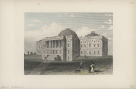The U.S. Capitol in the 1830s
