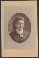 Unknown Woman Cabinet Card