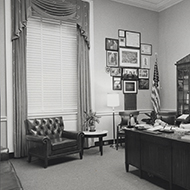 Thomas Steed's Office