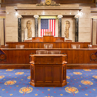 Rostrum in the House Chamber