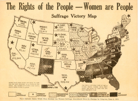 Suffrage Map