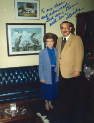 Anderson with Rep. Lindy Boggs
