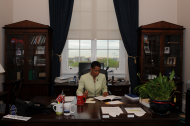 <i>In Her Congressional Office</i>