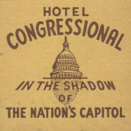 From the Blog: Welcome to the Hotel Congressional