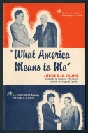 """<i>""""What America Means to Me""""</i>"""