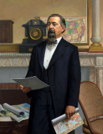<i>Representative Romualdo Pacheco of California</i>