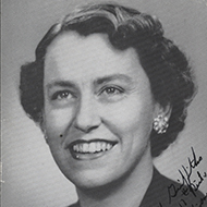 Representative Martha Griffiths of Michigan was a key figure in bringing women's rights legislation to successful passage in Congress.