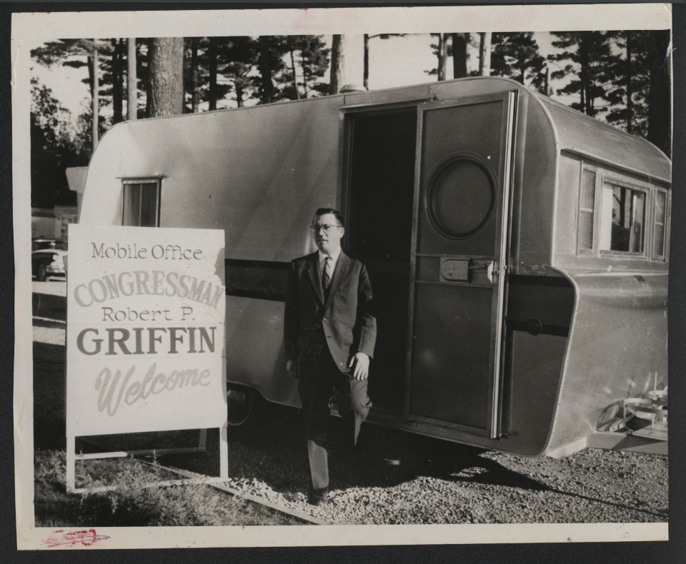 Robert Griffin and His Mobile Office