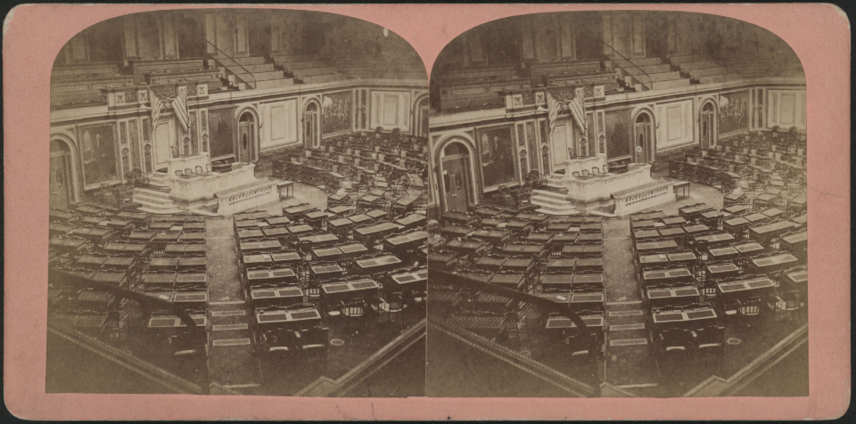 The House Chamber in 1868