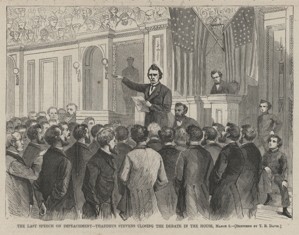 Thaddeus Stevens's Final House Speech on Impeachment