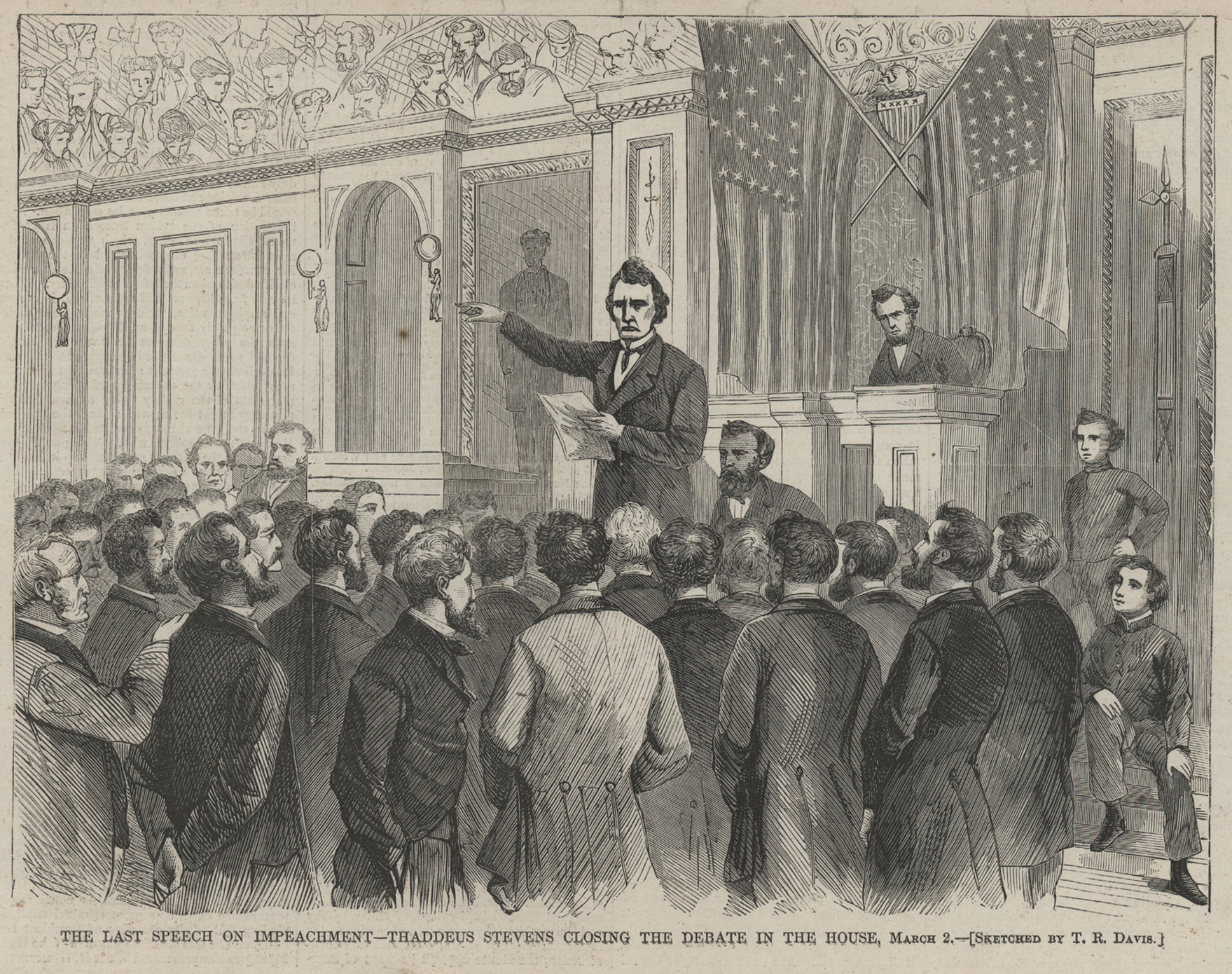 Impeachment Us House Of Representatives History Art Archives