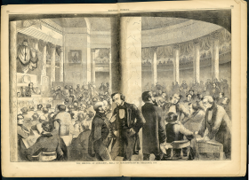 The Meeting of Congress, Hall of Representatives - December 1857