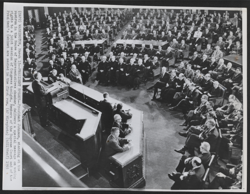1965 Joint Session Photograph