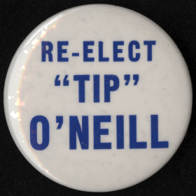Tip O'Neill Campaign Button