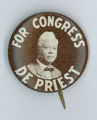 Oscar De Priest Lapel Pin