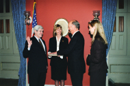 <i>Walter Capps Swearing In, 1997</i>