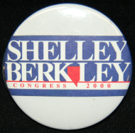 <i>Shelley Berkley Lapel Pin</i>