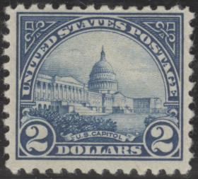Postage Stamp Featuring the Capitol