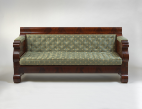 John Quincy Adams Box Sofa
