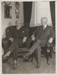 Nicholas Longworth and John Nance Garner