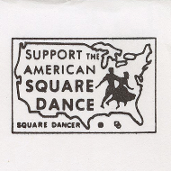 Support the American Square Dance Logo