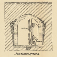 Detail of the Tunnel in an Architectural Plan