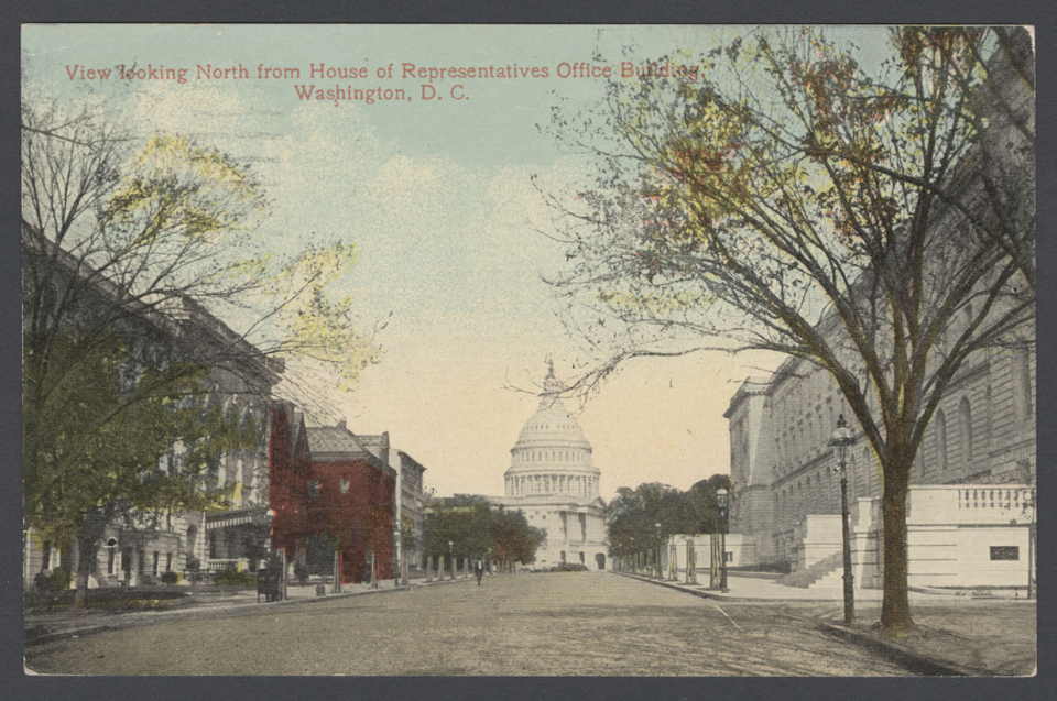 View from House Office Building Postcard