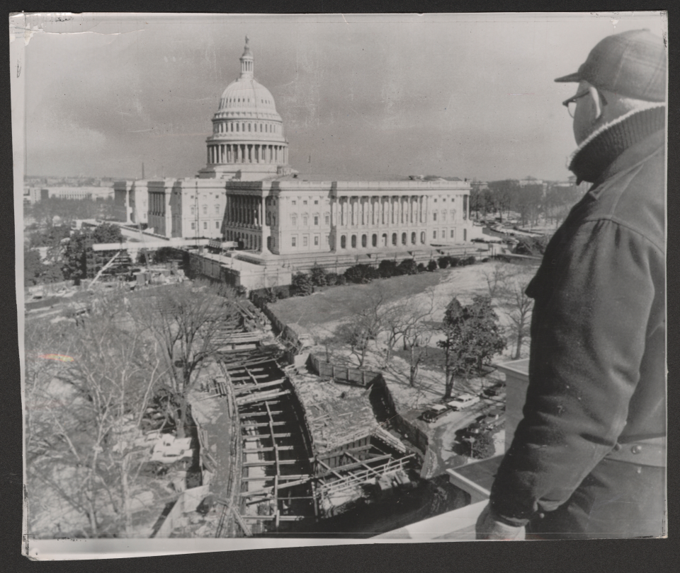 Construction of the Rayburn Tunnel