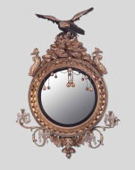 Looking Glass, American, about 1800