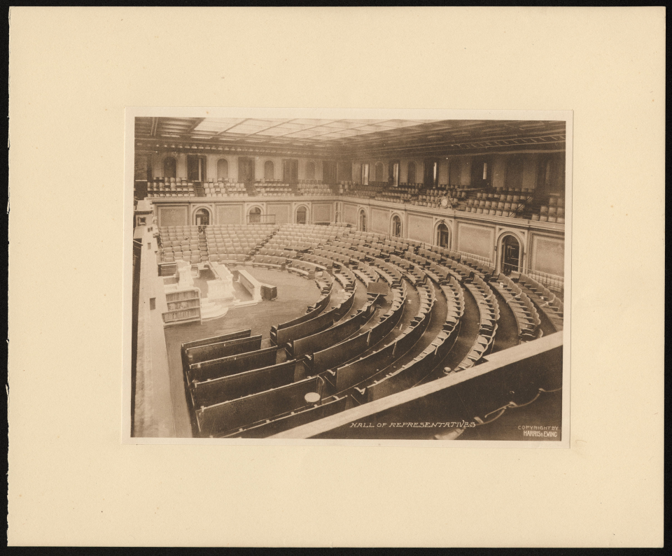 House Chamber in 1913