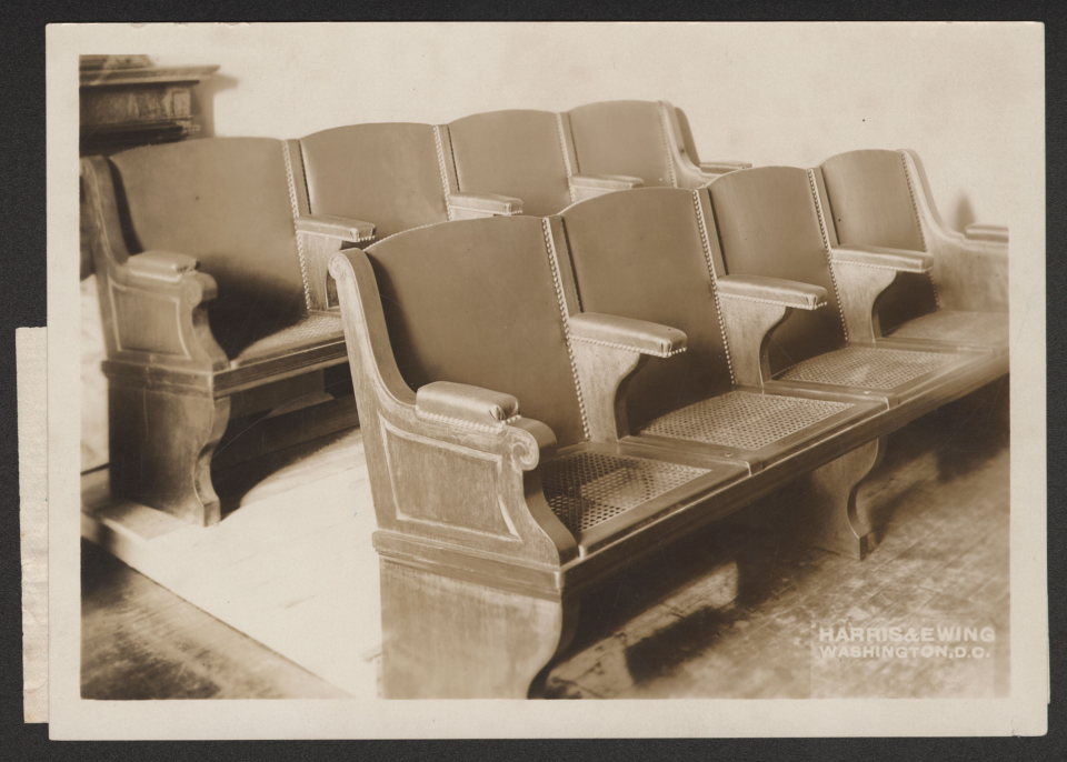New Seats in 1913
