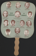 <i>Black Lawmakers in Congress Fan</i>