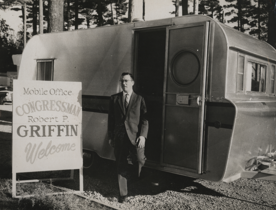 Robert P. Griffin's Traveling Office