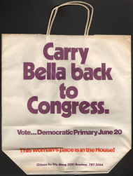 Carry Bella Back to Congress