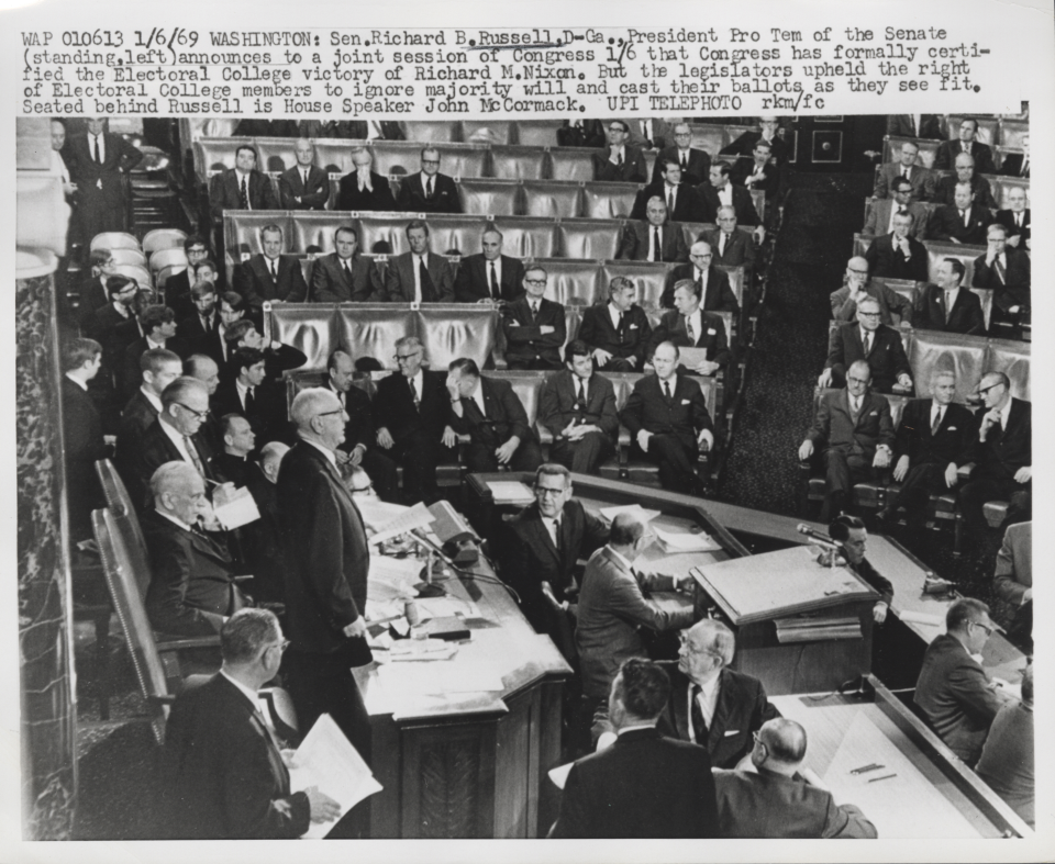 1969 Electoral College Count Joint Session