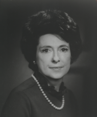 Photograph of Representative Lindy Boggs