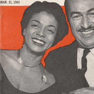 Hazel Scott and Adam Clayton Powell Jr. on the Cover of Jet