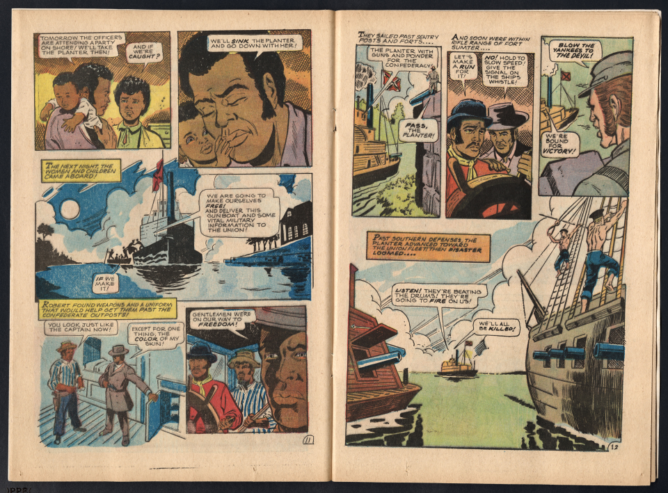 Golden Legacy, Pages 11–12